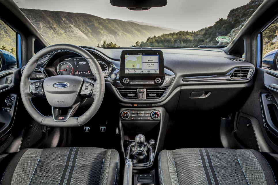 It has an 8.0-inch touch-capacitive unit with the latest Ford Sync 3 interface. (Overseas model pictured)