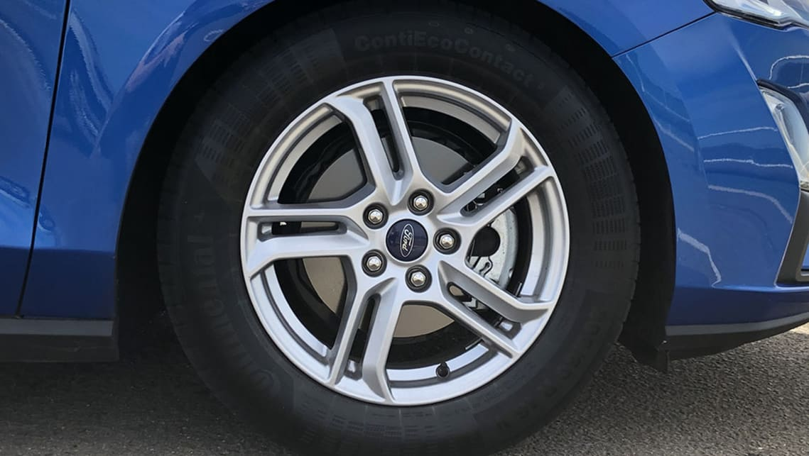 The Trend opens the range with 16-inch alloys.