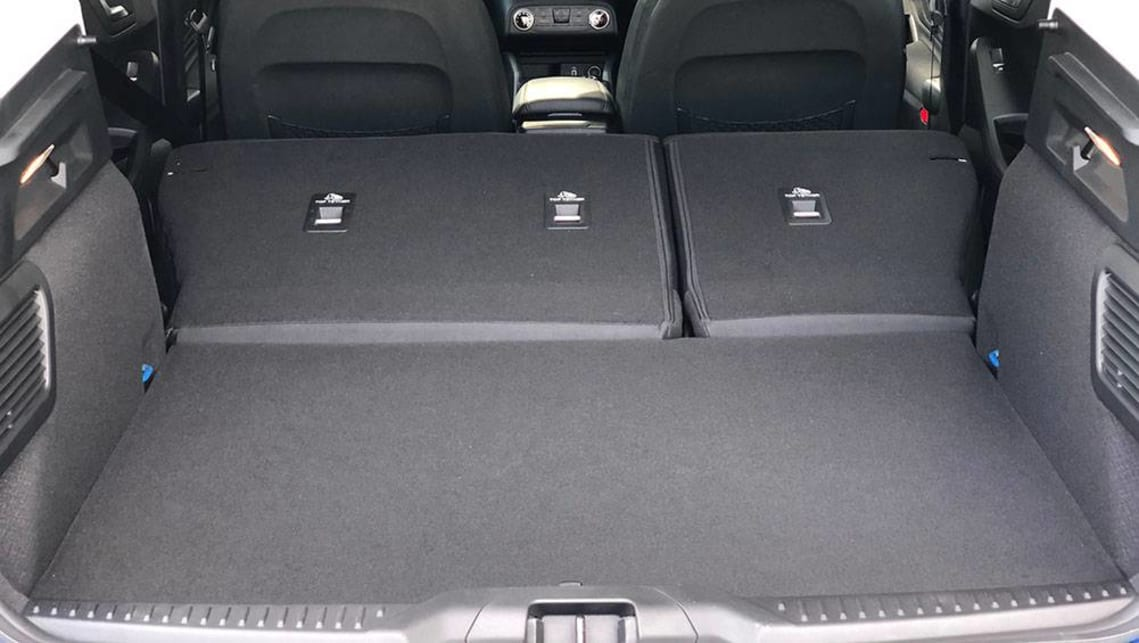 With the seats down, the boot has a capacity of 1320 litres.