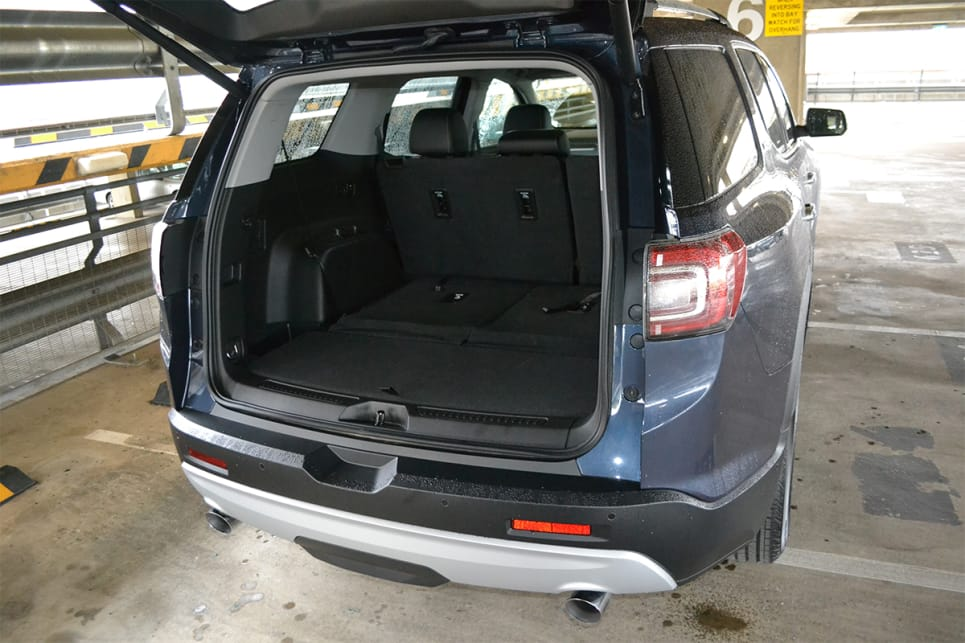 With the rear row down and the boot space grows to 1042 litres.