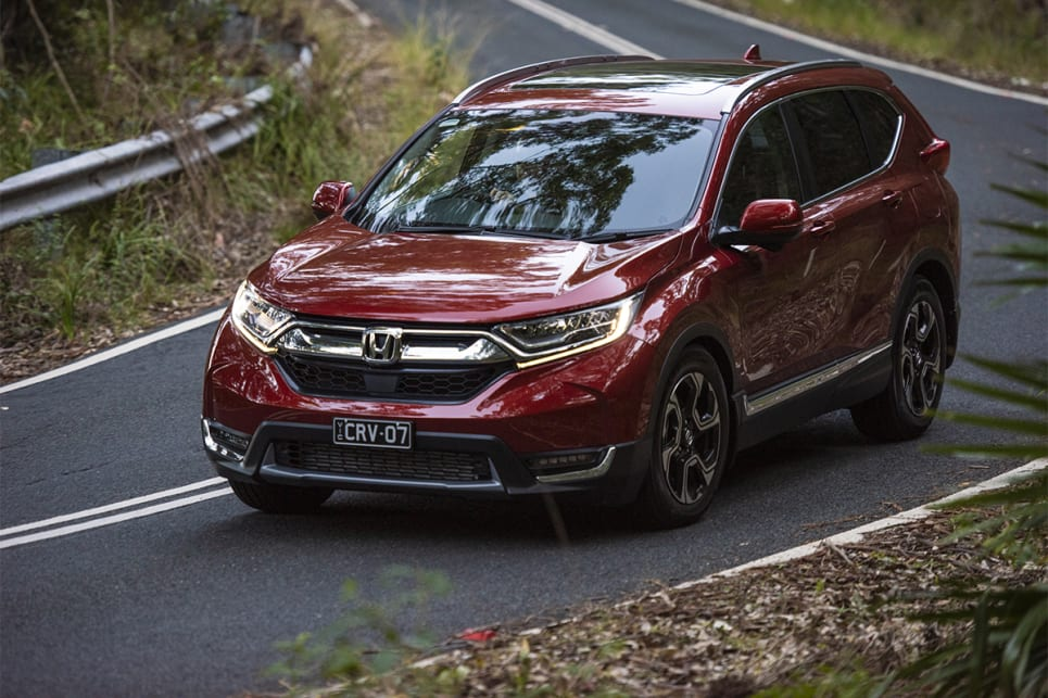 Across our mix of urban, highway and twisty road driving, the CR-V was a surprise favourite. (image credit: Dean Johnson)