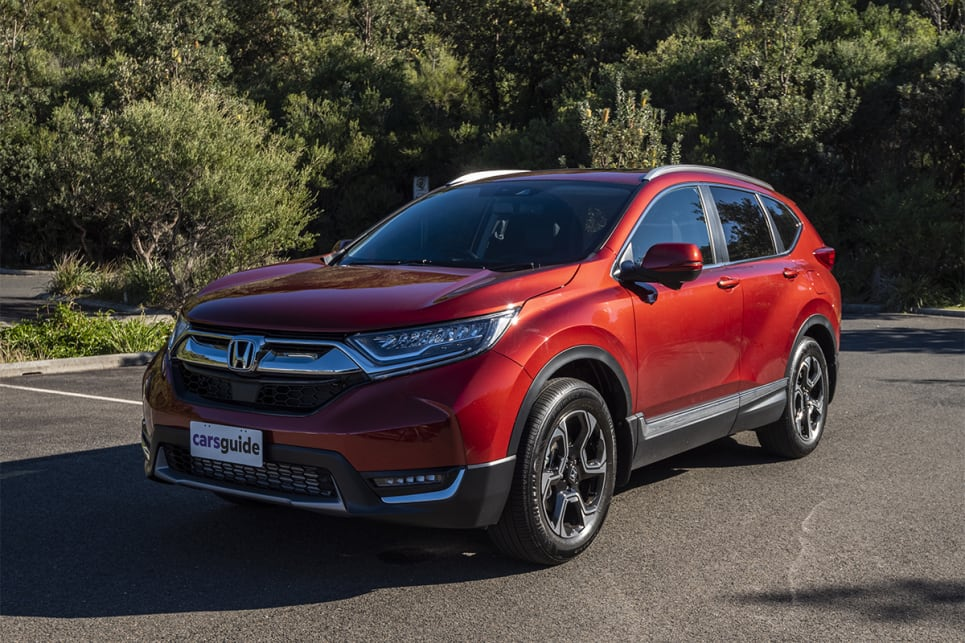 The CR-V's front end is undeniably better than its rear. (image credit: Dean Johnson)