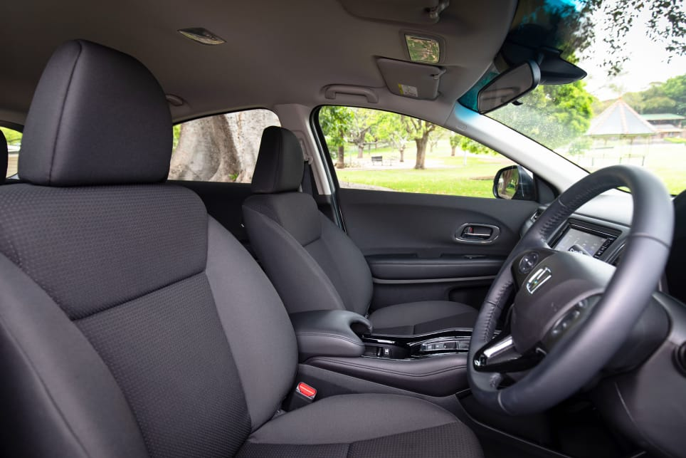 The HR-V feels more spacious than some of its competitors.