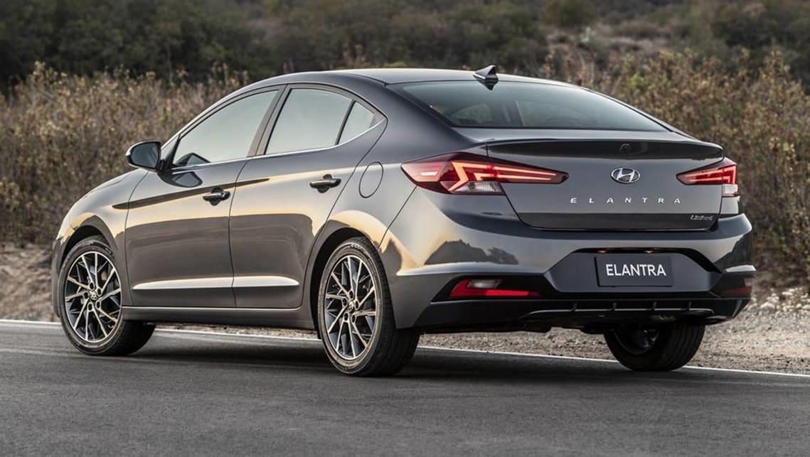 Hyundai Elantra 2019 revealed - Car News | CarsGuide