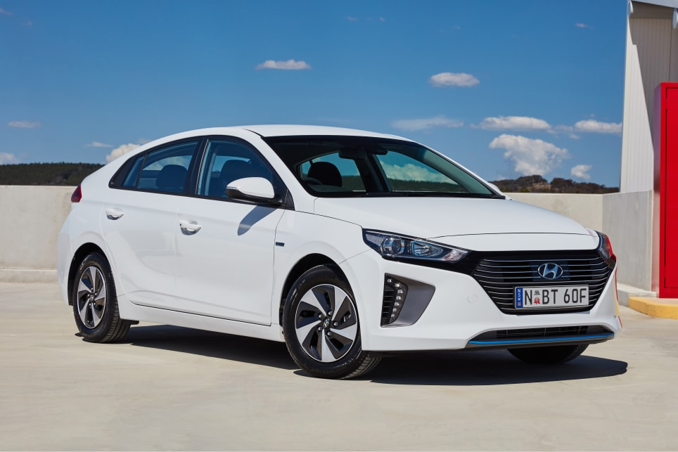 Although some design elements change depending on the spec, the Ioniq's overall fastback shape is shared across the range. (Hybrid variant shown)