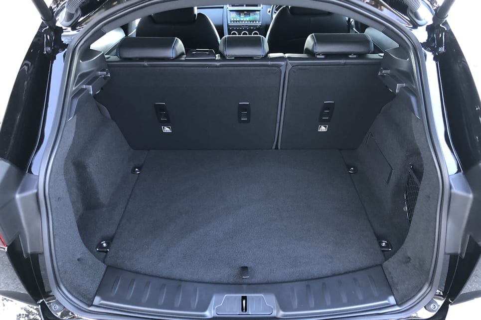 The boot starts at 577 litres with the seats in place with that figure rising to 1234 litres when the seats are folded down. (image: Peter Anderson)