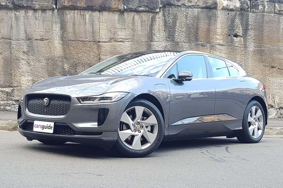 Jaguar boasts that the I-Pace has the brand's most torsionally rigid structure.