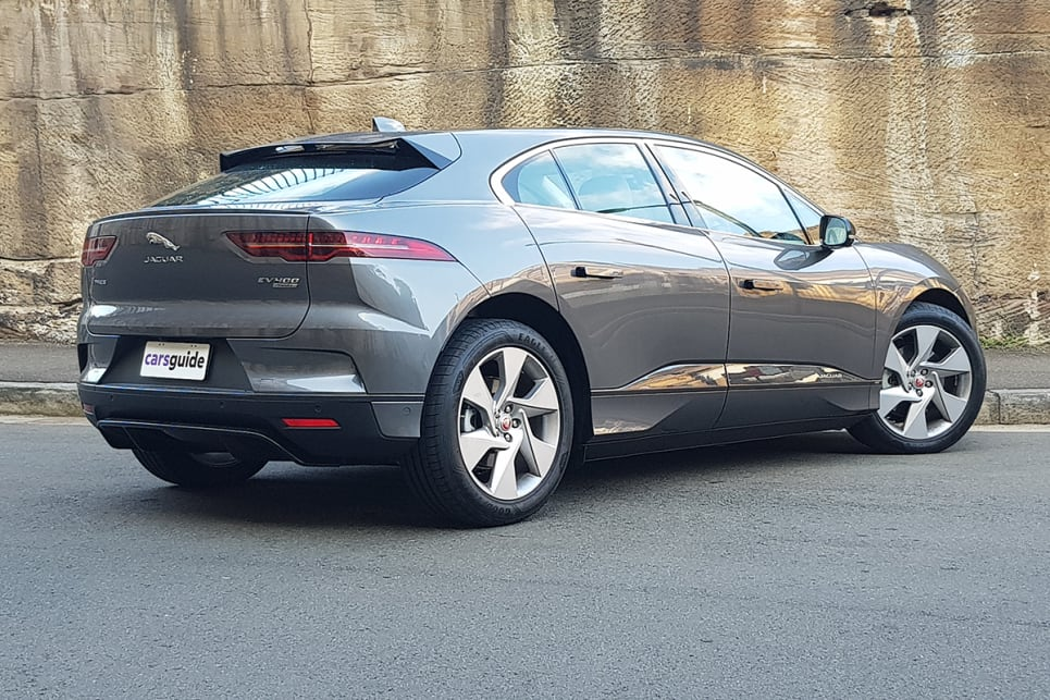 The I-Pace's more coupe than SUV-like roofline helps it achieve a slippery 0.29 aerodynamic drag coefficient.
