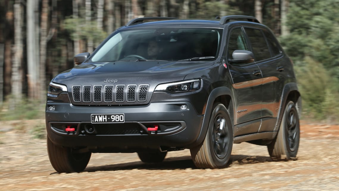 Jeep Cherokee Trailhawk 2019 review: snapshot | CarsGuide