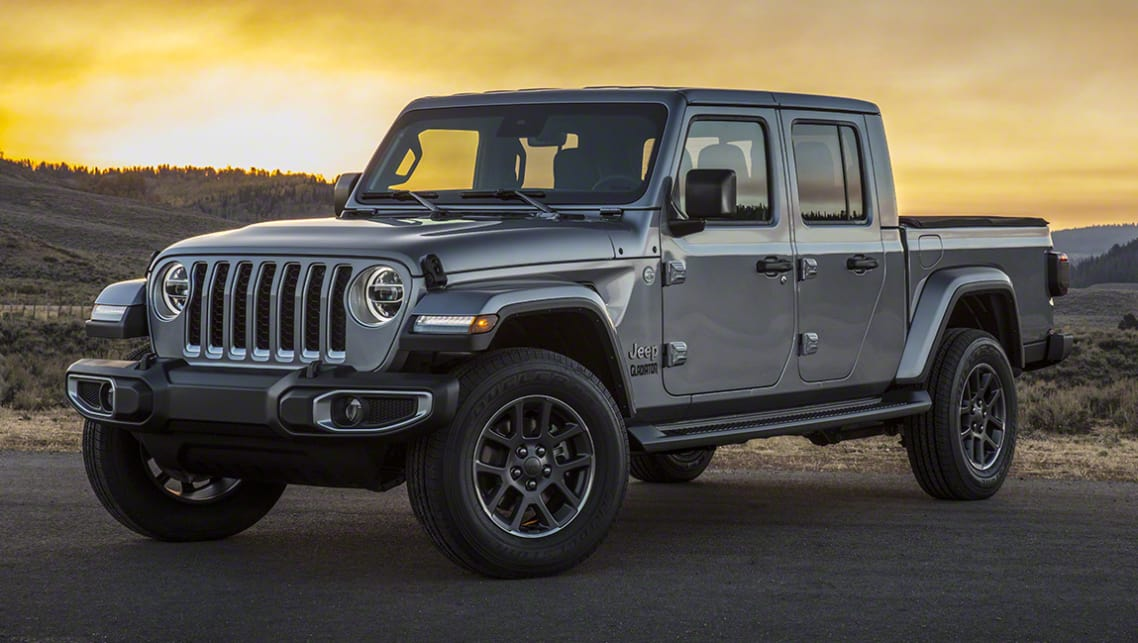 Jeep Gladiator 2020 Revealed Wrangler Ute Officially