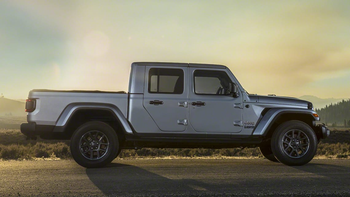 Jeep Gladiator 2020 Revealed Wrangler Ute Officially Unveiled