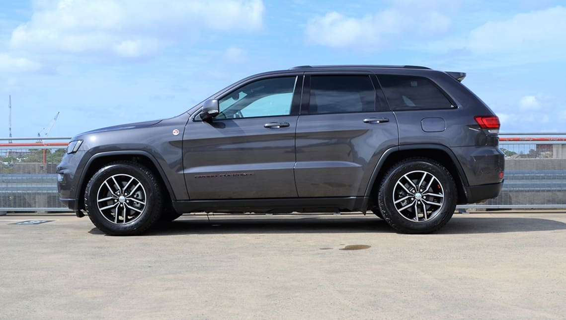 Jeep Grand Cherokee 2019 Review Trailhawk Carsguide