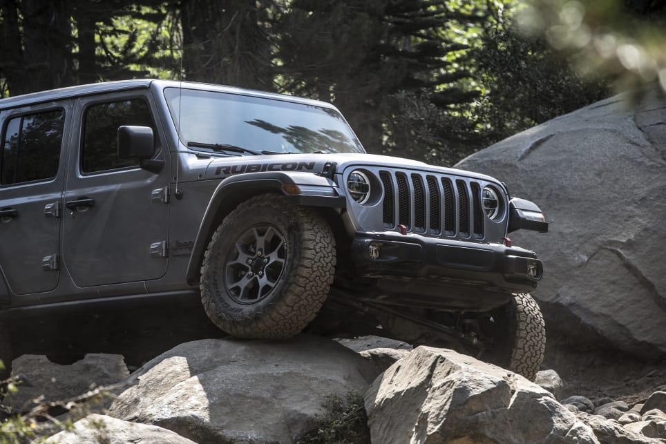 Chunkier tyres and stronger axles are just some of the kit on the Rubicon.
