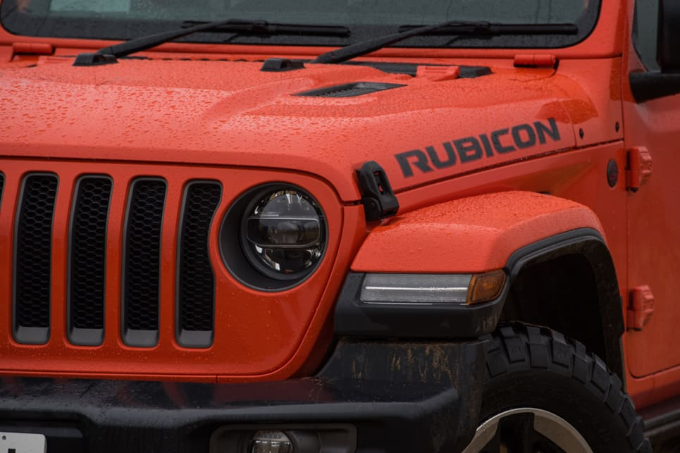 This diesel Rubicon, as tested, costs $73,275, but that price includes a few optional extras. (image: Brendan Batty)