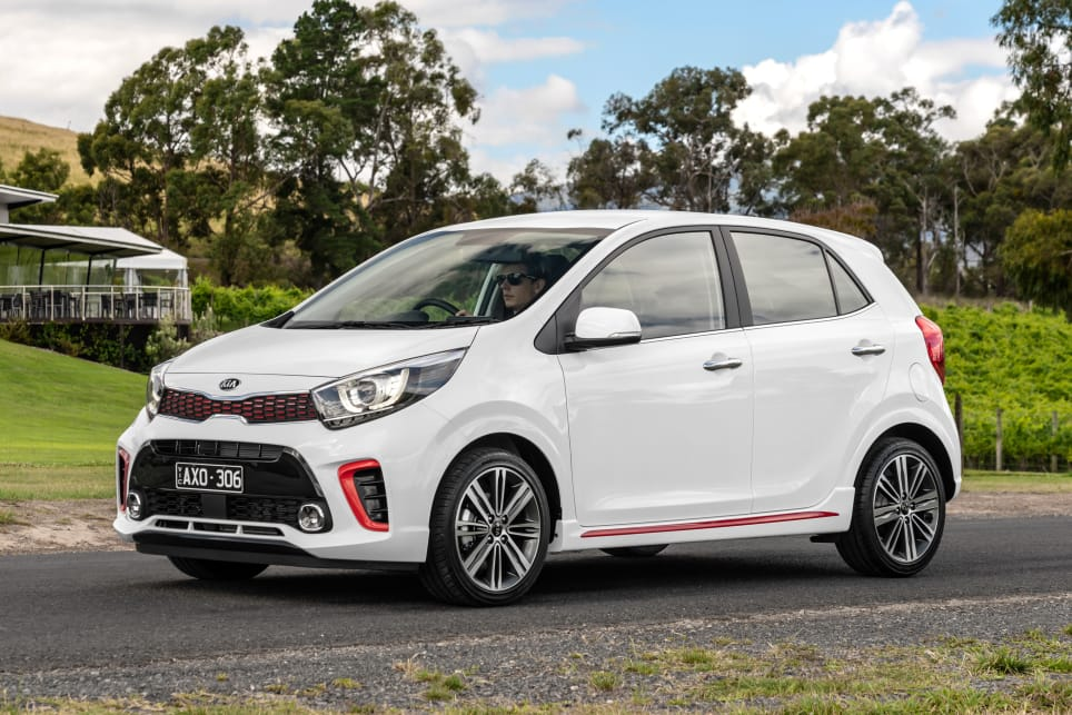 The Picanto already looked like some kind of angry baby panda, and the GT not only adds more aggressive styling but more mechanical punch, too.