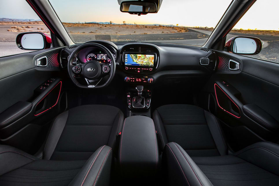 The interior design includes rounded dash components.