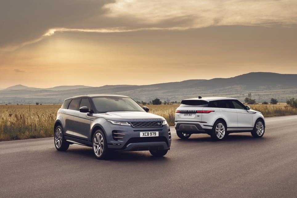 The new Evoque manages to remain true to the original concept, with a sleek design, compact tapered glasshouse and Transformers-style muscularity.