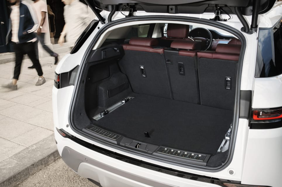 Boot space has been increased by 10 per cent, featuring a total of 591L of space with the seats up. That increases to 1383L with them down.