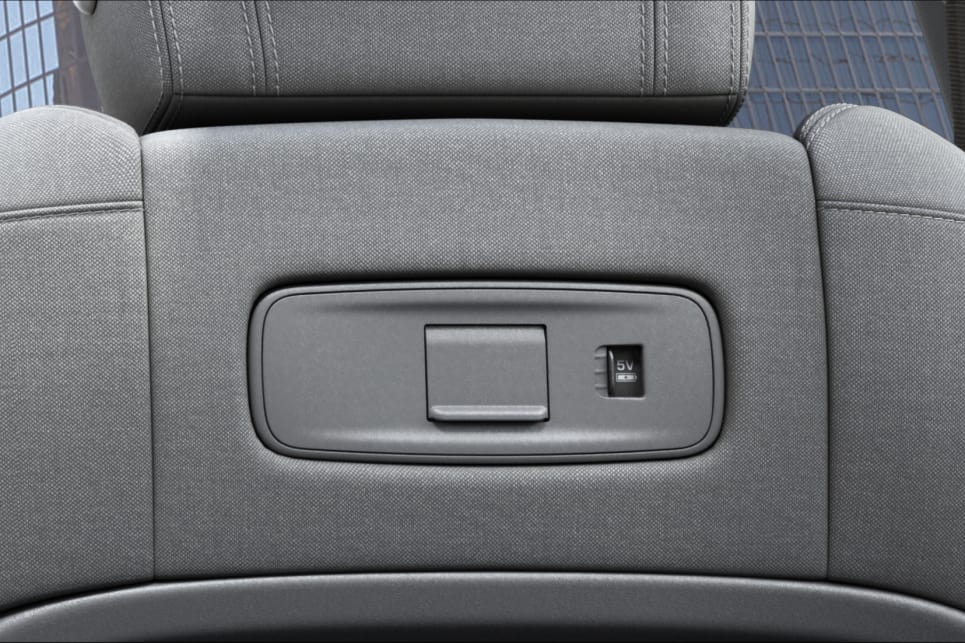 The new Evoque features 4G Wifi hotspot and six USB ports around the cabin, two of which are mounted in the rear of the front seats.