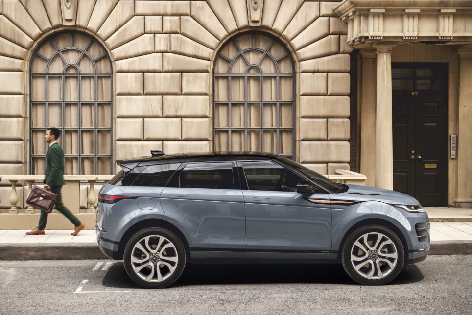 The fact Range Rover has only shown five-door versions of the Evoque gives you an idea that there won't be a three-door.