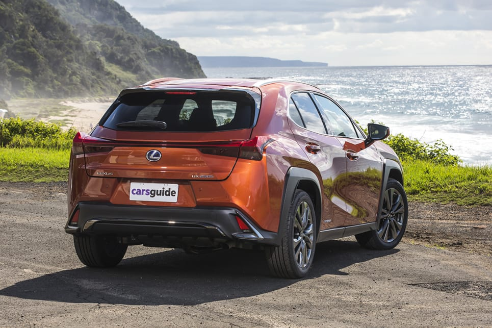 The Lexus UX is clearly the most daring in its design from this line up.