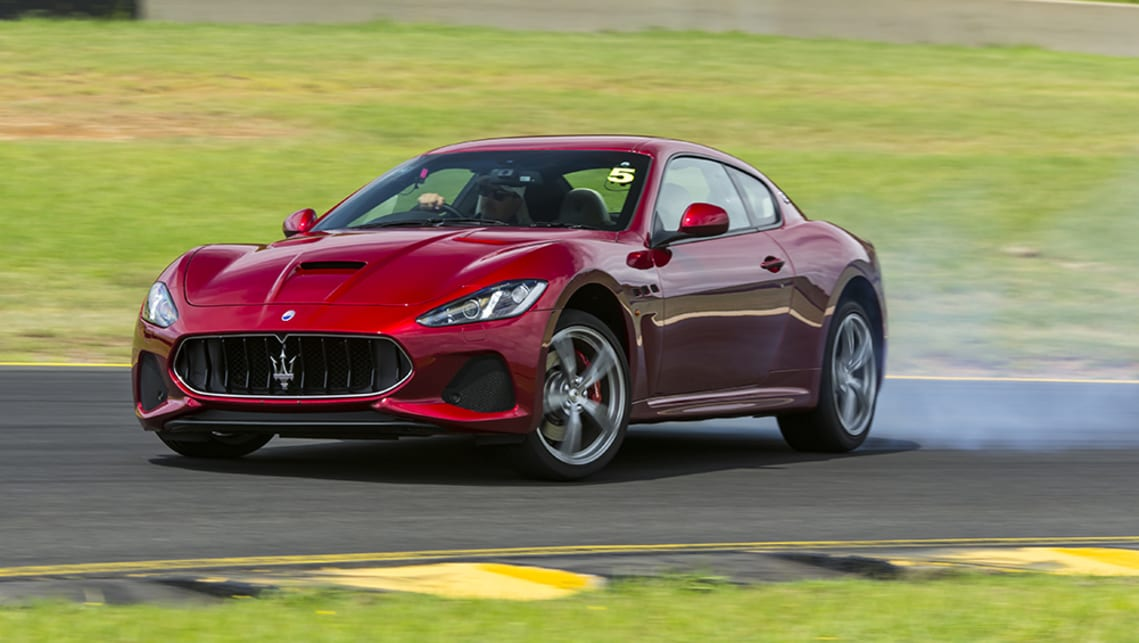It's the GranTurismo MC that feels the most Maserati of all in these conditions.
