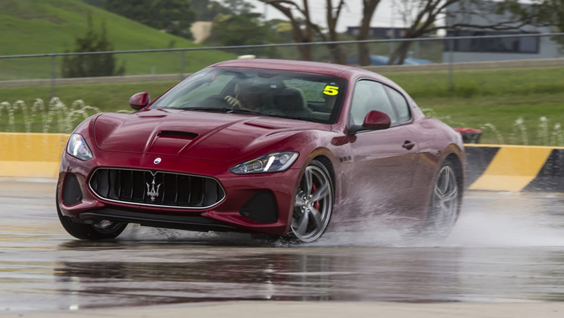 Swapping into the GranTurismo MC, we once again turned off all traction systems and held the auto in second.