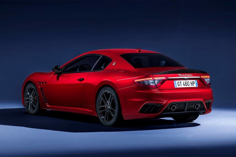 All of these details differ from the versions they replaced, aside from the side gills which were lifted from the previous MC Stradale. (GranTurismo MC international variant pictured)