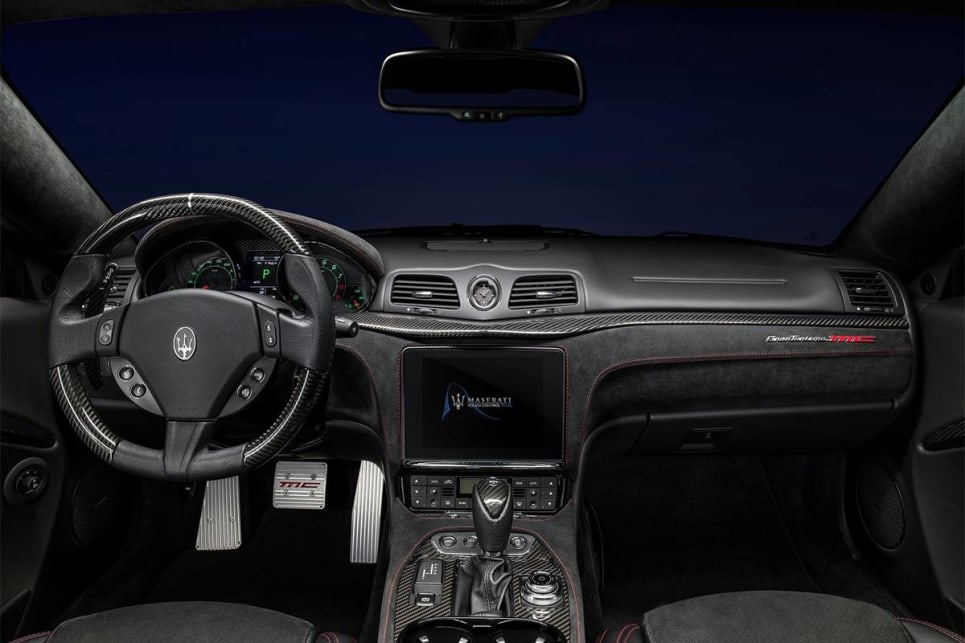 The big news on the inside was their alignment with fresher Maserati models with the upgrade to an 8.4-inch multimedia screen with Apple CarPlay and Android Auto compatibility. (GranTurismo MC international variant pictured)