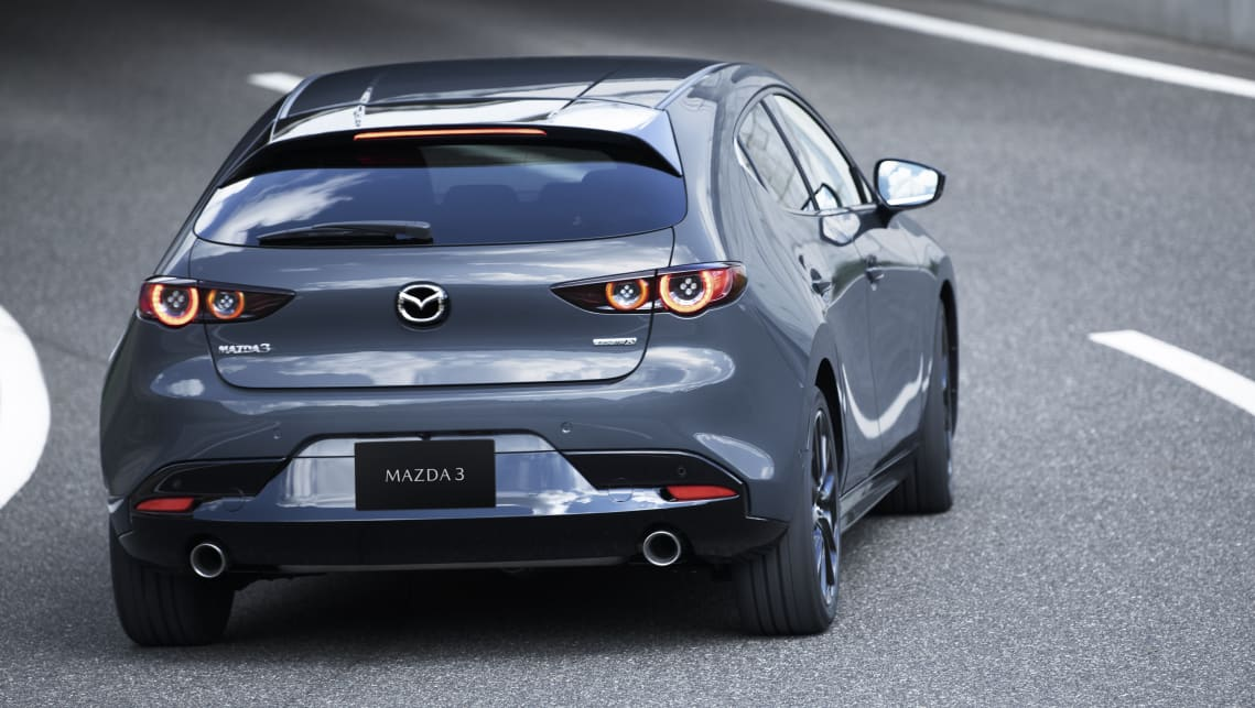 Mazda 3's equipped with all-wheel-drive get an updated version of Mazda's all-paw i-Activ system.