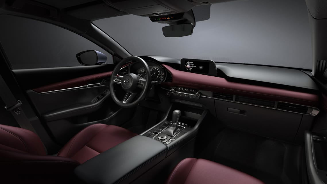 The interior has been reshaped too, with a driver-angled dash display that continues the exterior's clean uncluttered approach.
