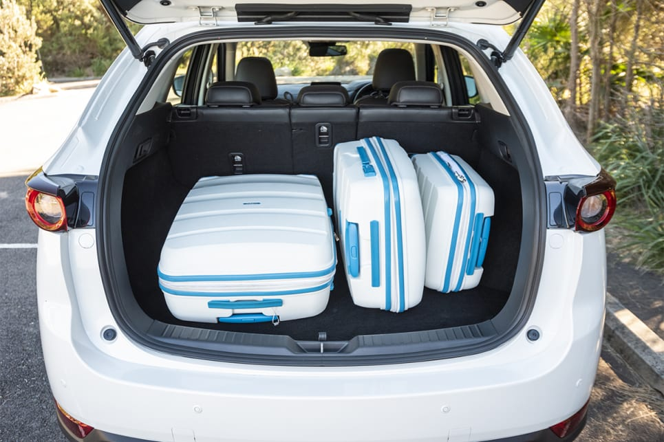 The Mazda offers the least among of rear storage. (image credit: Dean McCartney)