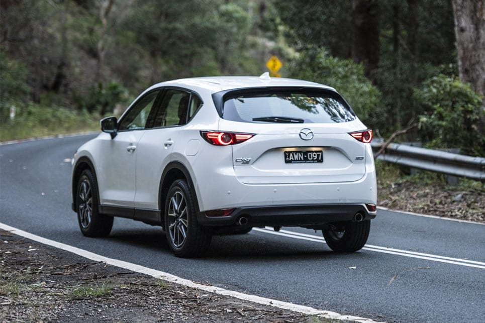 Mazda has built a reputation for offering vehicles that are fun to drive, but sadly the CX-5 GT fell a bit short of our expectations. (image credit: Dean Johnson)