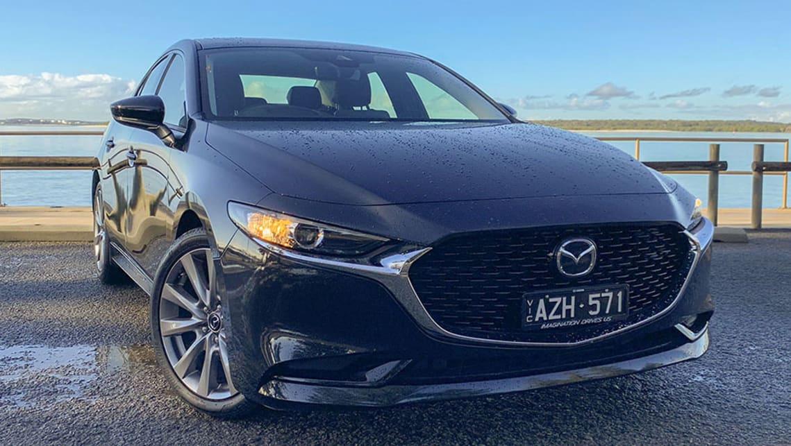 Mazda 3 sedan 2019 review: G25 Evolve | CarsGuide