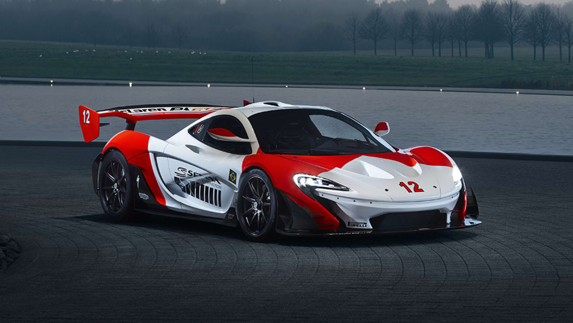 This P1 was built to celebrate the 30th anniversary of Senna's first world championship.