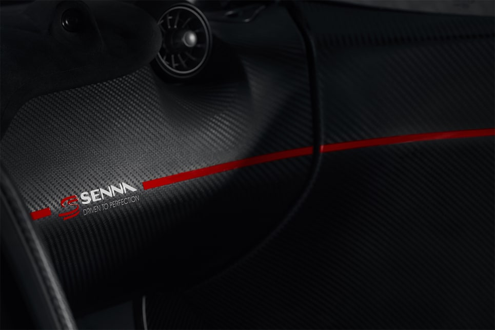 Senna Brand Trademark was added to each door.