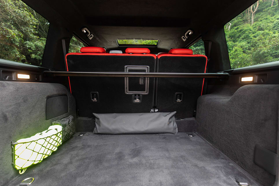 With the rear seats upright boot volume is quoted at 454 litres (VDA). (image credit: Dean McCartney)