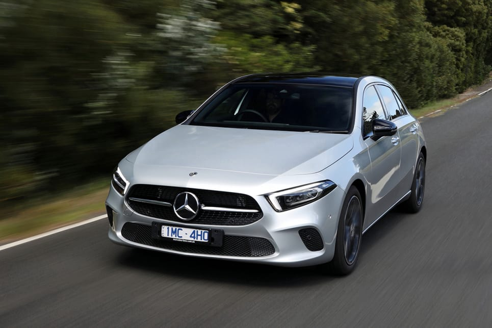 New Mercedes-Benz A-Class brings big Merc advancement to the entry model.