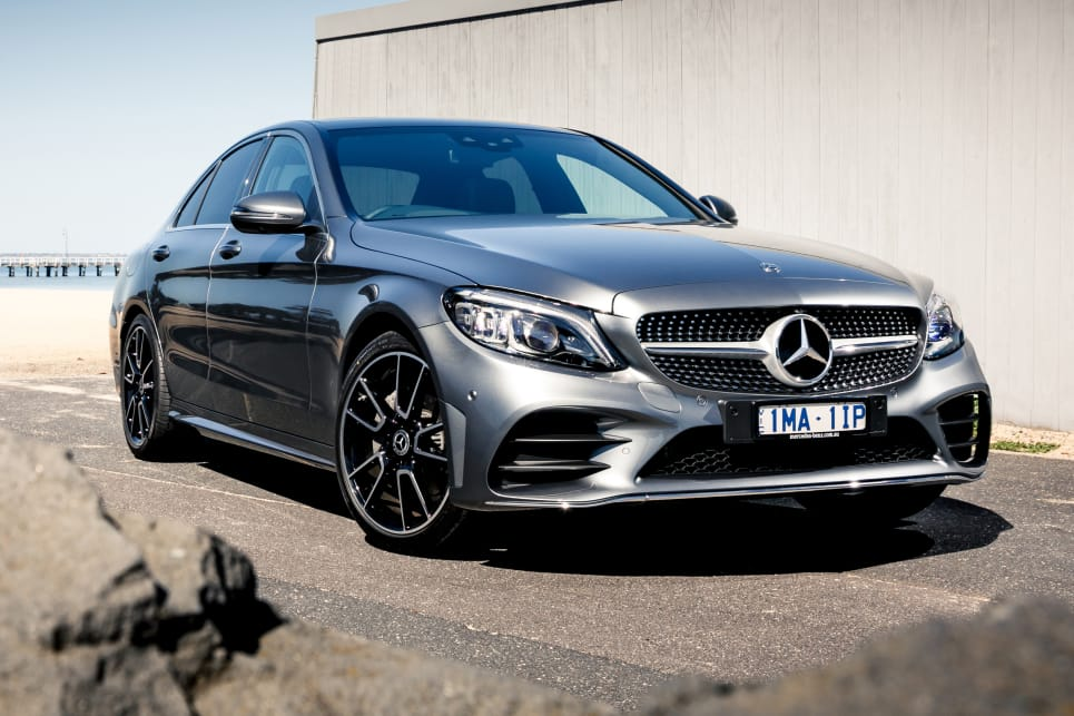 2019 Mercedes-Benz C-Class. (C200 with 'AMG Line Exterior' package pictured)