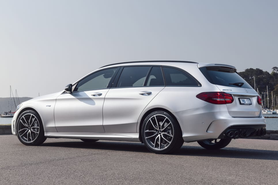 2019 Mercedes-Benz C-Class. (C 43 AMG wagon pictured)