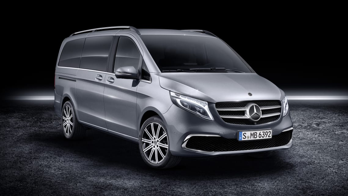 Mercedes-Benz has revealed a substantially upgraded version of its V-Class with new design and tech.