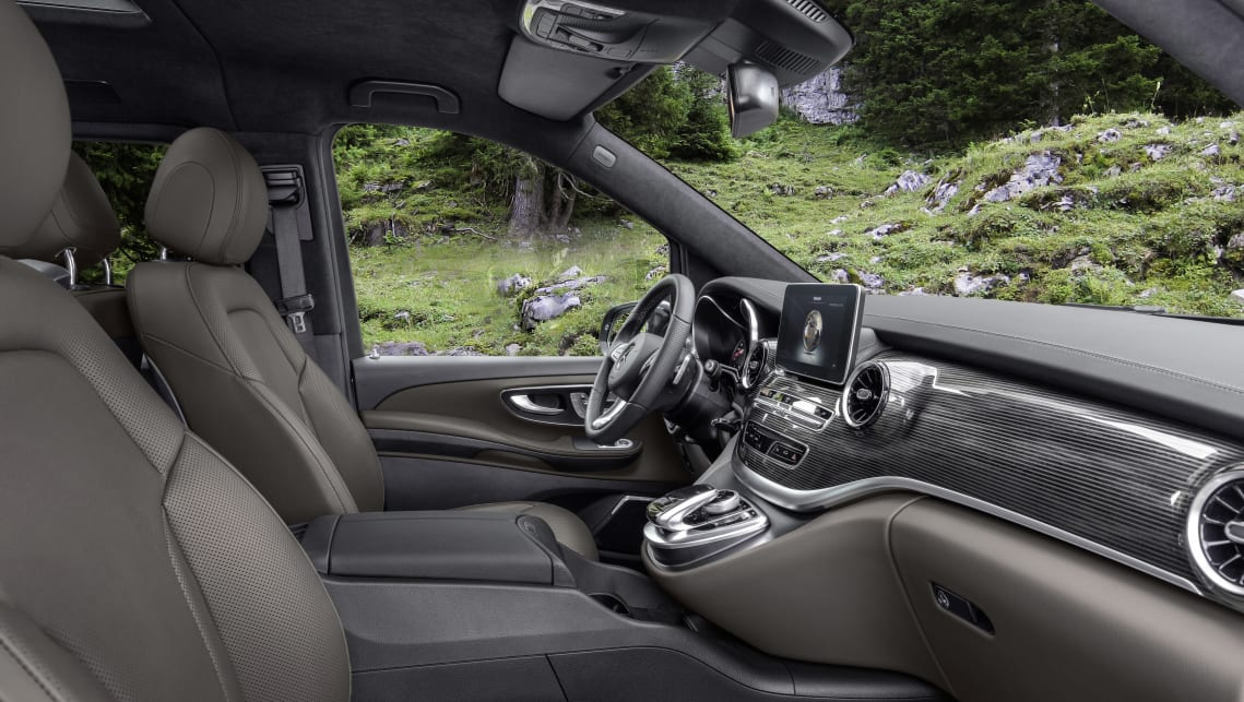 Changes to the interior include new 'double stripe' trim elements, 'turbine look' air vents and an additional 'tartufo' (rich tan) leather option.