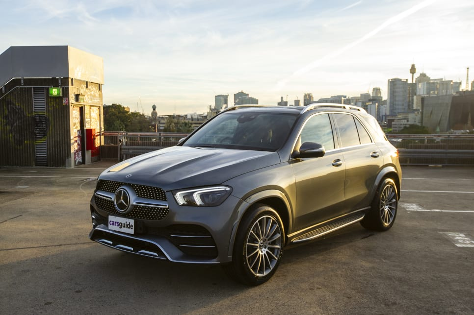 The GLE has a more aggressive appearance