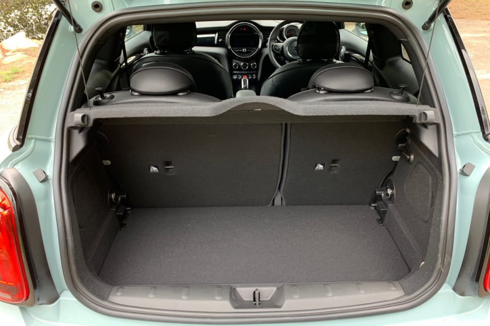 Boot space starts at 211 litres.
