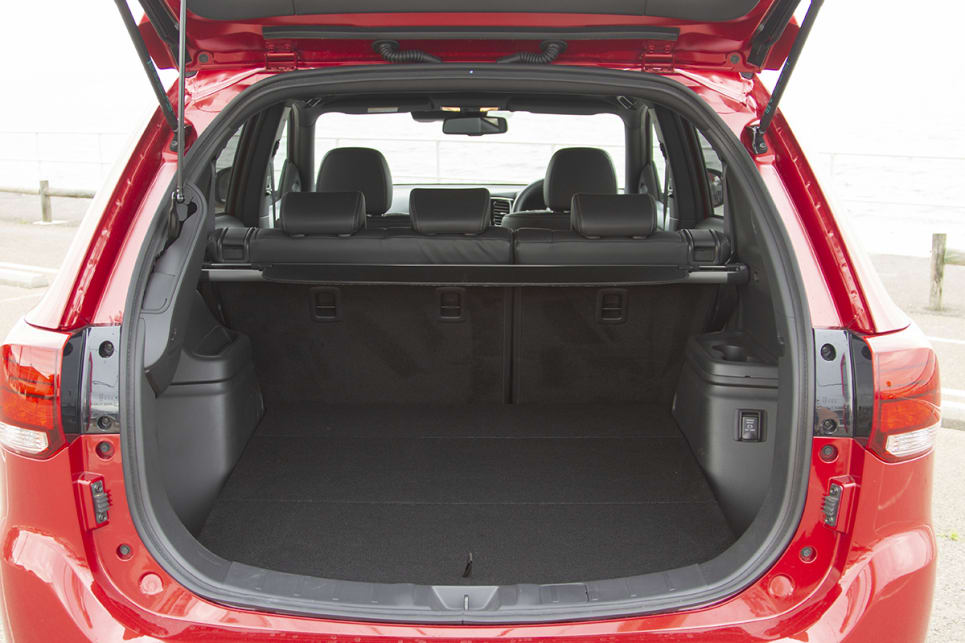 The boot is a handy 477 litres with the rear seats in place. (image: Peter Anderson)