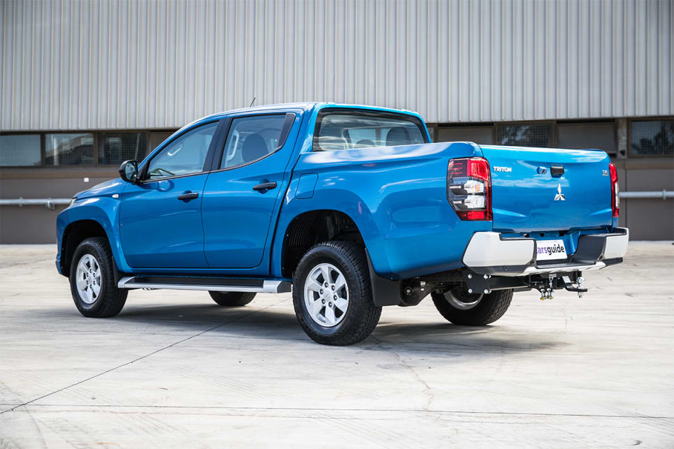 Over the GLX, the GLX+ gets 16-inch alloy wheels and side steps.
