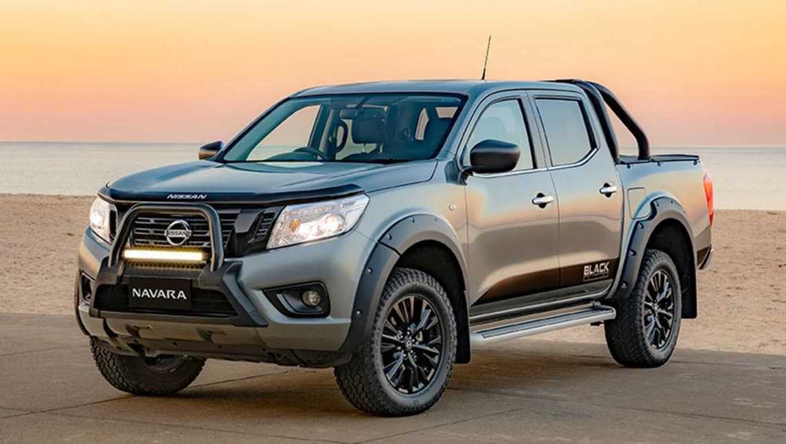 Nissan Navara 2019 range sees ST Black Edition and SL ...