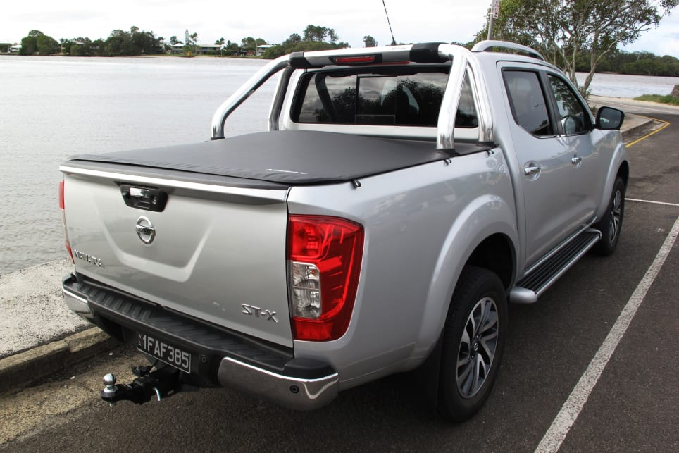 We like the muscular arches and tough, no-nonsense stance of the Navara.