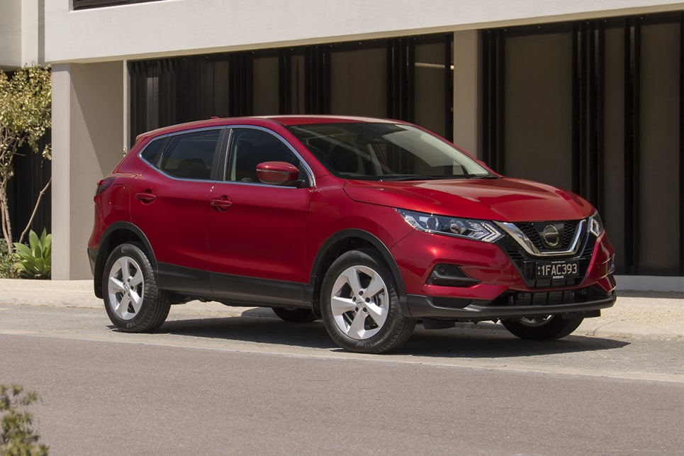 The Qashqai ST SUV  is priced from $27,990 drive away for the manual.