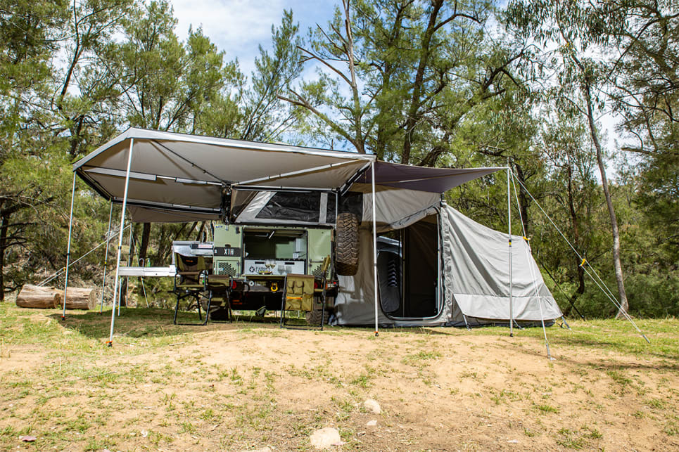 Intricate, rugged and darn good-looking, there's a reason the Patriot is the most desirable camper on the market right now.
